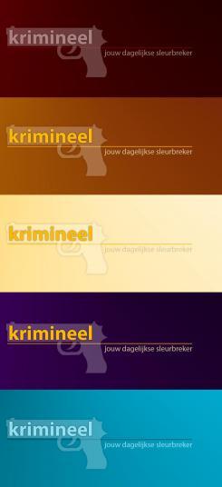 Logo # 576 voor Weblog 'Krimineel' jouw dagelijkse sleur breker - LOGO contest wedstrijd