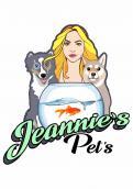 Logo  # 1040310 für Ein YouTube Haustierkanal Logo mit Hunden am Aquarium und blondes Madchen dane Wettbewerb