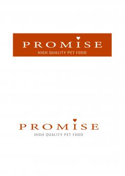 Logo design # 1196830 for promise dog and catfood logo contest