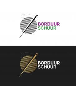 Logo # 1126600 voor Borduurschuur wedstrijd