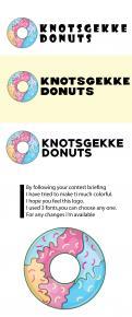 Logo # 1230767 voor Ontwerp een kleurrijk logo voor een donut store wedstrijd