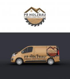Logo  # 1166710 für Logo fur das Holzbauunternehmen  PR Holzbau GmbH  Wettbewerb