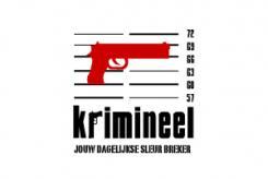 Logo # 494 voor Weblog 'Krimineel' jouw dagelijkse sleur breker - LOGO contest wedstrijd