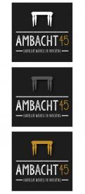 Logo # 323786 voor Ontwerp een pakkend logo voor een nieuw ambachtelijk productiebedrijf voor meubels en inrichting. wedstrijd