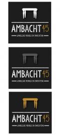 Logo # 323795 voor Ontwerp een pakkend logo voor een nieuw ambachtelijk productiebedrijf voor meubels en inrichting. wedstrijd