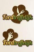 Logo # 293896 voor logo ontwerp voor een foodtruck met wisselende gerechten, veelal biologische en lokaal geproduceerd wedstrijd