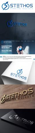 Logo design # 927041 for logo of the new company: Stethos Social Lab ( new subsidiary of Stethos Group) contest