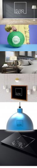 Logo # 1169712 voor Een logo voor studio NOURR  een creatieve studio die lampen ontwerpt en maakt  wedstrijd