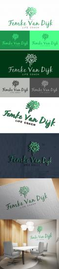 Logo # 966293 voor Logo voor Femke van Dijk  life coach wedstrijd