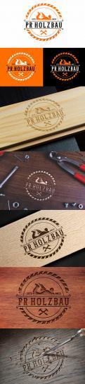 Logo  # 1166739 für Logo fur das Holzbauunternehmen  PR Holzbau GmbH  Wettbewerb