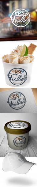 """Logo # 927785 voor Logo voor """"Rolled ice cream"""" startup (Frollies) wedstrijd"""