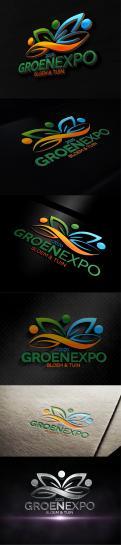 Logo # 1017681 voor vernieuwd logo Groenexpo Bloem   Tuin wedstrijd