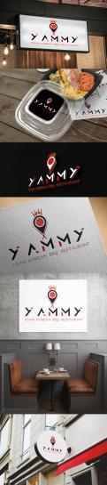 Logo # 1084703 voor ontwerp een horeca logo voor een nieuw te openen asian korean bbq restaurant wedstrijd
