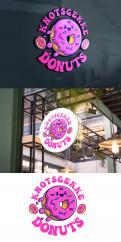 Logo # 1231380 voor Ontwerp een kleurrijk logo voor een donut store wedstrijd