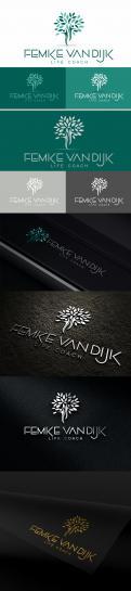 Logo # 966240 voor Logo voor Femke van Dijk  life coach wedstrijd