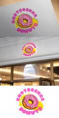 Logo # 1231381 voor Ontwerp een kleurrijk logo voor een donut store wedstrijd