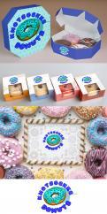 Logo # 1231382 voor Ontwerp een kleurrijk logo voor een donut store wedstrijd