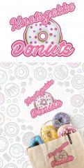 Logo # 1231385 voor Ontwerp een kleurrijk logo voor een donut store wedstrijd