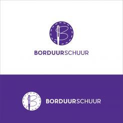 Logo # 1125642 voor Borduurschuur wedstrijd