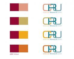 Logo # 610557 voor Ontwerp een zakelijk en rustig  logo voor de afdeling Clinical Research Unit (afkorting: CRU), een afdeling binnen het AMC; een groot academisch ziekenhuis in Amsterdam. wedstrijd