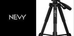 Logo # 1237189 voor Logo voor kwalitatief   luxe fotocamera statieven merk Nevy wedstrijd