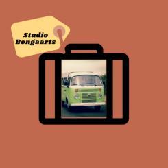 Logo # 1238812 voor Logo voor Tassen en lederwaren designer  Studio Bongaarts in Amsterdam  Steekwoorden  onderweg zijn  moderne retro wedstrijd