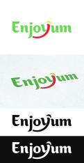 Logo # 338922 voor Logo Enjoyum. A fun, innovate and tasty food company. wedstrijd