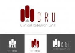 Logo # 613077 voor Ontwerp een zakelijk en rustig  logo voor de afdeling Clinical Research Unit (afkorting: CRU), een afdeling binnen het AMC; een groot academisch ziekenhuis in Amsterdam. wedstrijd