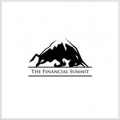 Logo design # 1062505 for The Financial Summit   logo with Summit and Bull contest