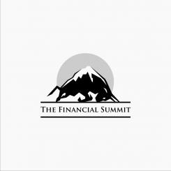 Logo design # 1062924 for The Financial Summit   logo with Summit and Bull contest