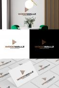 Logo design # 1153558 for modern logo for wood wall panels contest