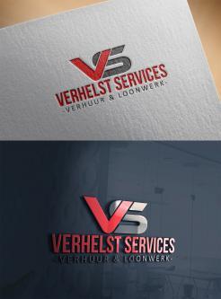 Logo # 982750 voor Ontwerp een strak logo voor een verhuur   loonbedrijf! wedstrijd