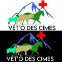 Logo design # 1105881 for Logo for a veterinary practice specialized in large animals in the french Alps contest