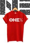 Logo # 950972 voor ONE PERCENT CLOTHING kledingmerk gericht op DJ's   artiesten wedstrijd