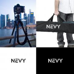 Logo # 1237597 voor Logo voor kwalitatief   luxe fotocamera statieven merk Nevy wedstrijd