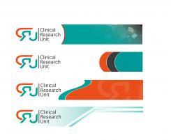 Logo # 612360 voor Ontwerp een zakelijk en rustig  logo voor de afdeling Clinical Research Unit (afkorting: CRU), een afdeling binnen het AMC; een groot academisch ziekenhuis in Amsterdam. wedstrijd