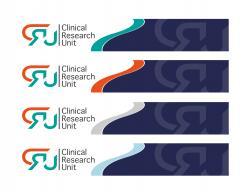 Logo # 612697 voor Ontwerp een zakelijk en rustig  logo voor de afdeling Clinical Research Unit (afkorting: CRU), een afdeling binnen het AMC; een groot academisch ziekenhuis in Amsterdam. wedstrijd