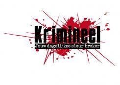 Logo # 476 voor Weblog 'Krimineel' jouw dagelijkse sleur breker - LOGO contest wedstrijd