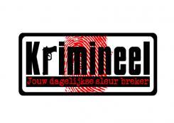 Logo # 496 voor Weblog 'Krimineel' jouw dagelijkse sleur breker - LOGO contest wedstrijd