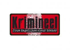 Logo # 495 voor Weblog 'Krimineel' jouw dagelijkse sleur breker - LOGO contest wedstrijd