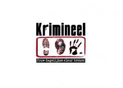 Logo # 477 voor Weblog 'Krimineel' jouw dagelijkse sleur breker - LOGO contest wedstrijd