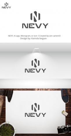Logo # 1236043 voor Logo voor kwalitatief   luxe fotocamera statieven merk Nevy wedstrijd
