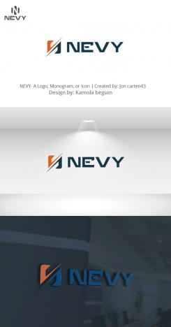 Logo # 1236045 voor Logo voor kwalitatief   luxe fotocamera statieven merk Nevy wedstrijd
