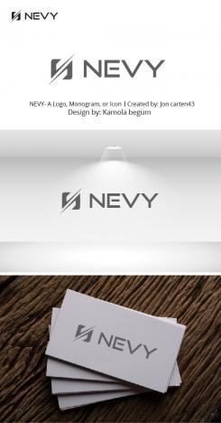 Logo # 1236048 voor Logo voor kwalitatief   luxe fotocamera statieven merk Nevy wedstrijd