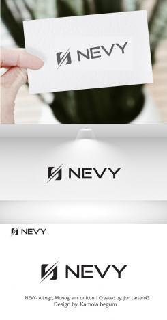 Logo # 1236049 voor Logo voor kwalitatief   luxe fotocamera statieven merk Nevy wedstrijd