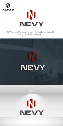 Logo # 1236050 voor Logo voor kwalitatief   luxe fotocamera statieven merk Nevy wedstrijd