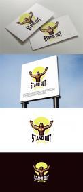 Logo # 1113367 voor Logo voor online coaching op gebied van fitness en voeding   Stand Out Coaching wedstrijd