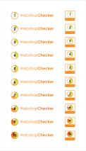 Logo design # 1097470 for WebshopChecker nl Widget contest