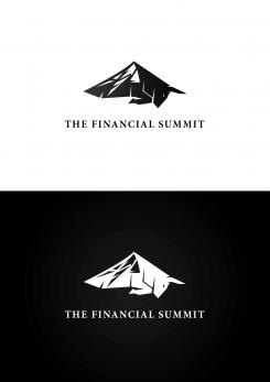 Logo design # 1058647 for The Financial Summit   logo with Summit and Bull contest