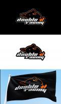 Logo # 1250930 voor Stoer maar branding bewust Logo met de naam  Double D Racing wedstrijd